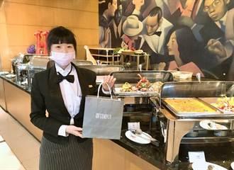 因應疫情 台中各大飯店搶推美食外送、外帶服務