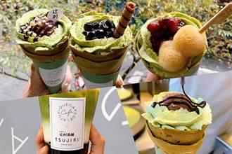 抹茶珍珠引暴動!gelato pique café X 辻利三款銷魂可麗餅