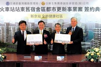 打造高雄新京站 開發效益上看百億