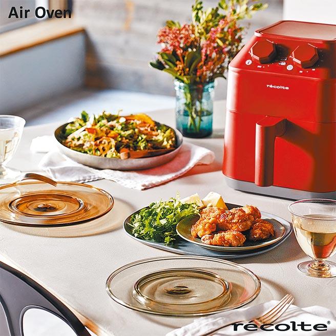 momo購物網的recolte麗克特Air Oven氣炸鍋,原價4990元,2月28日前特價3280元。(momo購物網提供)