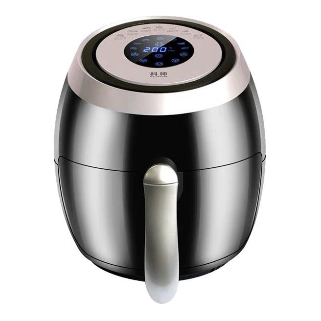 蝦皮購物的科帥液晶觸控氣炸鍋,原價4990元,特價1880元起。(蝦皮購物提供)