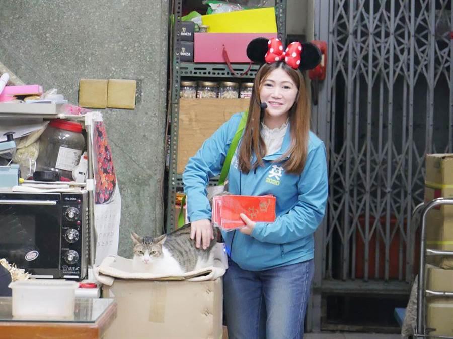 台北市議員陳怡君呼籲民眾盡快接種疫苗。(翻攝陳怡君臉書/譚宇哲傳真)
