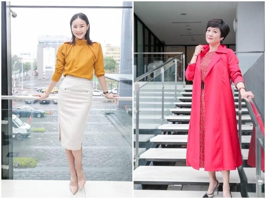 崔佩儀(右)和鍾瑶演母女。盧禕祺攝