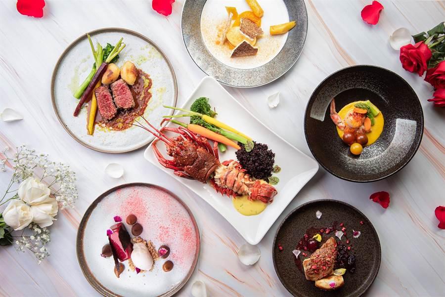 高雄英迪格酒店「Pier No.1高空酒吧」首度推出1個月的情人節套餐訂位服務,每日限接6組。。(高雄英迪格酒店提供/柯宗緯高雄傳真)
