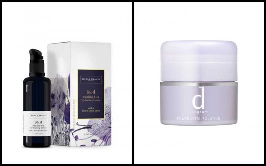 (左)Edible Beauty 澳洲可食用等級精品護膚品No.4 香草絲滑保濕乳霜 50ml/1,550。(右)敏感話題 全能敏弱修護霜 25g /1,800元。(圖/品牌提供)