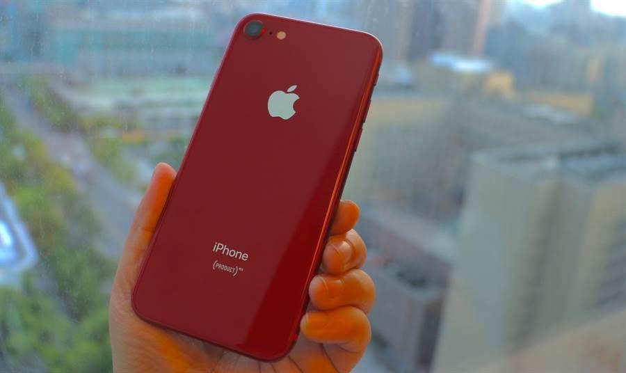 外媒推測,iPhone 9外觀可能與iPhone 8相當類似。(黃慧雯攝)