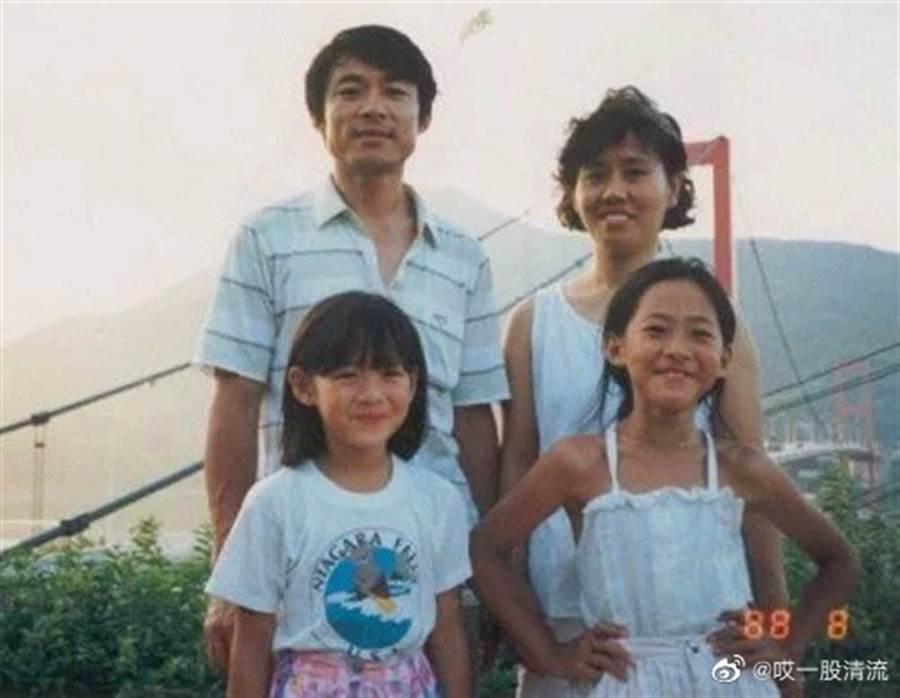 韓國網友發現孫藝珍父親撞臉玄彬。(取自微博)
