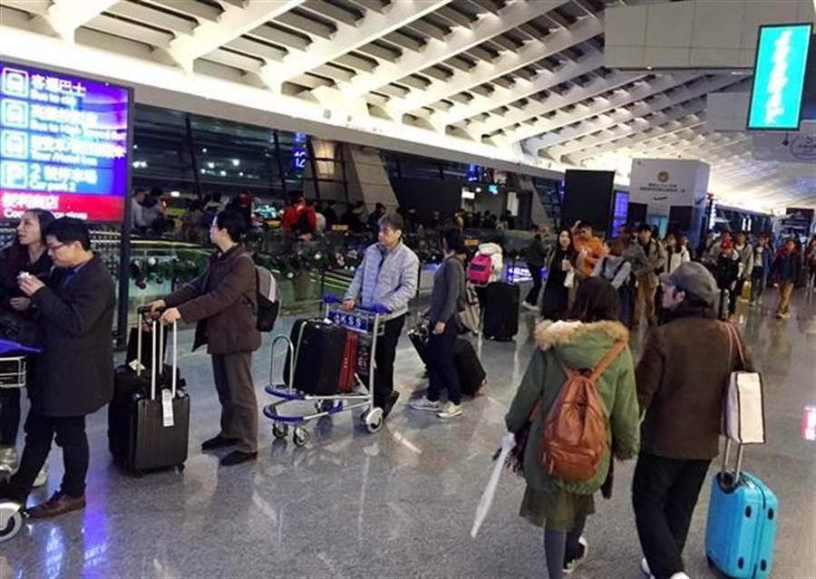 為了因應武漢肺炎疫情擴散,中央疫情中心宣布兩岸航班將進行管制 (示意圖/本報資料照)