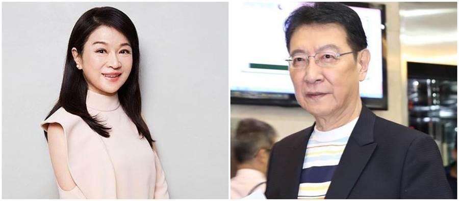 周玉蔻(左)、趙少康(右)。(圖/翻攝臉書、本報資料照)