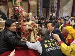 新港奉天宮元宵遶境 眾神與日本高僧共同祈禱人民安康