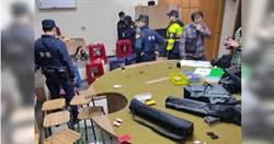 趁防疫攬客開賭 桃警破大型賭場逮捕53人
