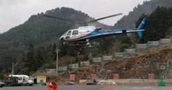 武漢肺炎/貴州出動直升機 裝消毒液進行空中消毒