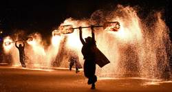 南投燈會鬧元宵 無人機、火舞 為元宵節掀起最熱烈高潮