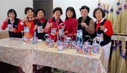 元宵提燈樂   美濃社區媽媽自製提燈遊庄慶元宵