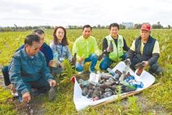 回收誘因低 廢玻璃瓶變春耕地雷