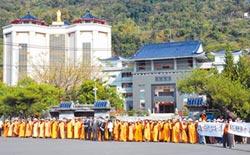 廟方擺18銅人陣 阻擋公權力安檢
