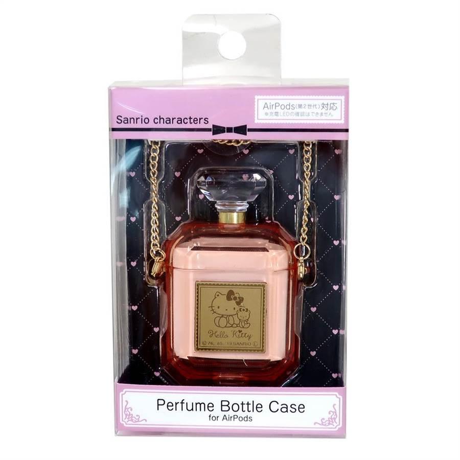 樂天市場推薦風象星座的招桃花小物,美樂蒂Air Pods香水瓶造型耳機殼,特價886元。(樂天市場提供)