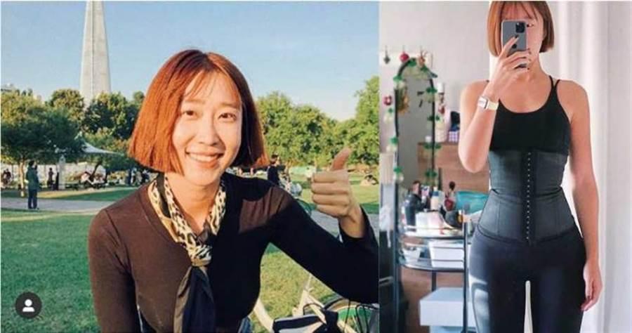 韓國網紅Mini大方分享自己的瘦身不復胖經驗,在社群媒體上大受歡迎,是許多人效仿的對象。(圖/翻攝自Mini IG)