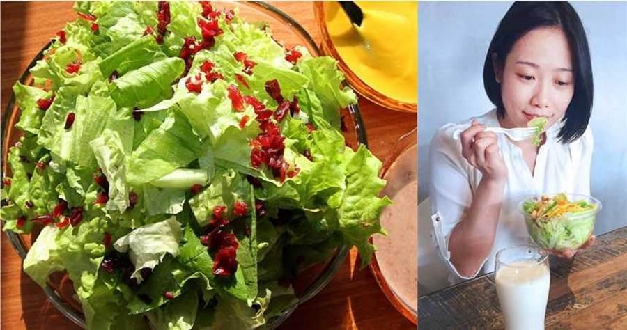 營養師趙函穎認為空腹狀態下吃下大量纖維會增加胃部負擔。(圖/報系資料庫、趙函穎提供)