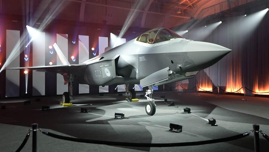 洛克希德馬丁打造的F-35戰機。(美聯社)