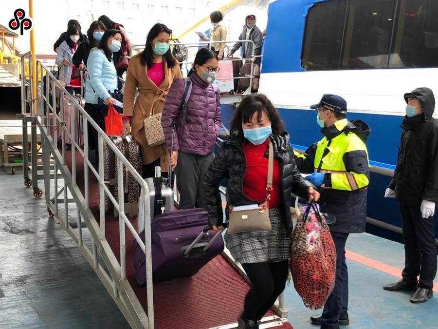 陸委會宣布兩岸海運客運2月10日起暫停。(本報系資料照)