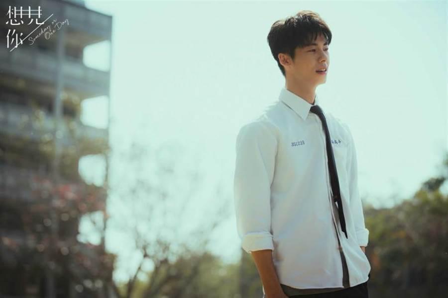 《想見你》中許光漢飾演李子維演技被讚爆,人氣飆漲。(圖/中視提供)