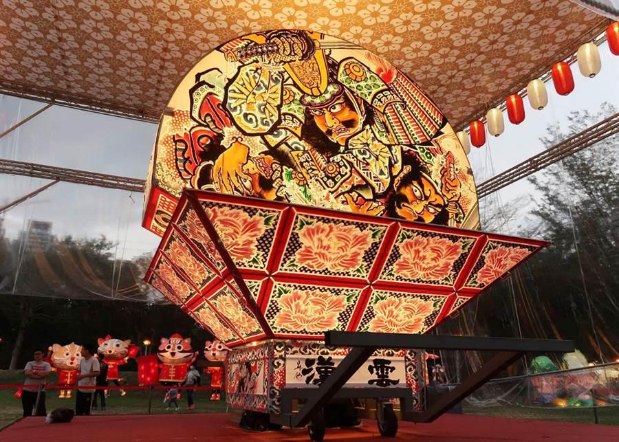 2020台灣燈會邁入第31屆,交通部觀光局以全新思維導入「美學設計」的概念進行燈區整體規畫。(交通部觀光局提供/陳世宗台中傳真)