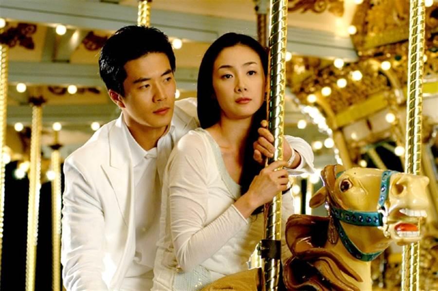 權相宇、崔智友主演《天國的階梯》是韓國2003年收視冠軍。(本報系資料照)