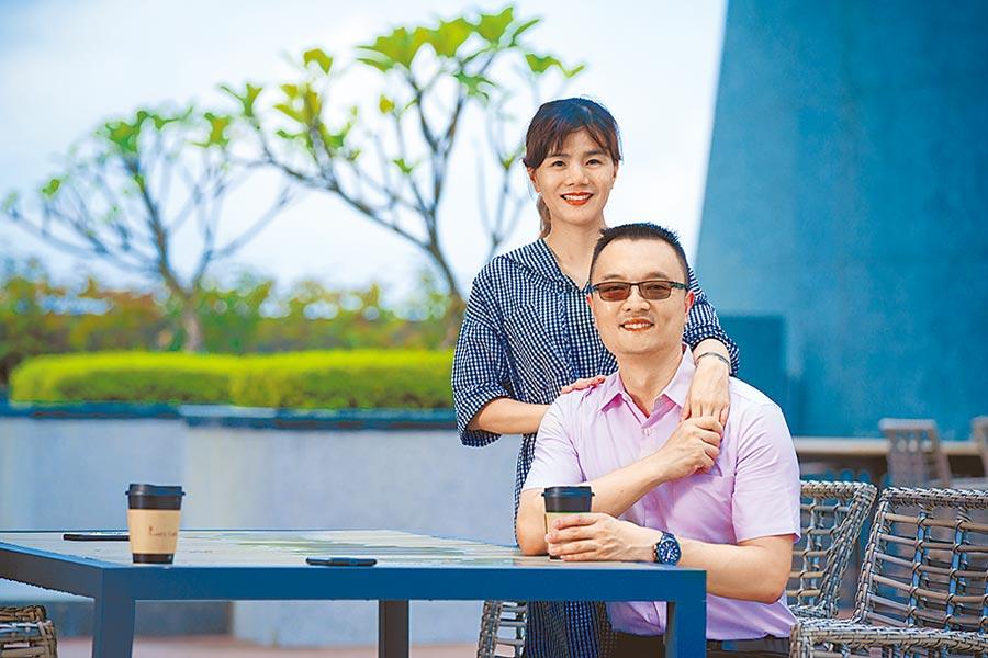 長欣利國際人力顧問有限公司廖浩彬總經理與黃筱蘋經理。圖/業者提供