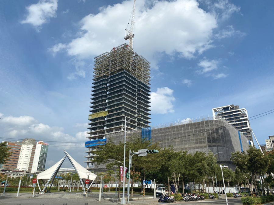 新莊副都心頂級商辦、酒店、商場逐一完工,各大國際企業總部紛紛雲聚副都心。圖/科達機構提供
