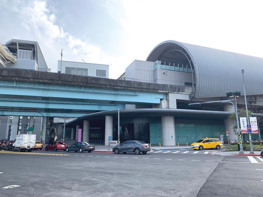 捷運A3新北產業園區站,具備機場捷運、環狀線雙捷運交會優勢,推升周邊產品買氣回升。圖/科達機構提供