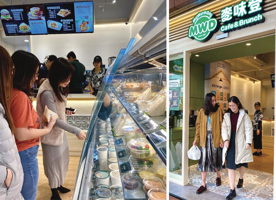 麥味登坐落於人潮眾多的南京三民捷運站「to-go外賣專門店」,試營運期間即廣受上班族的青睞。圖/麥味登提供