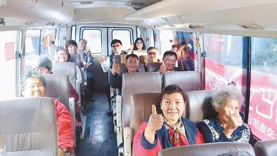 嘉義縣幸福巴士未來會陸續增加班次及行駛路線。(嘉義區監理所提供/張毓翎嘉義傳真)