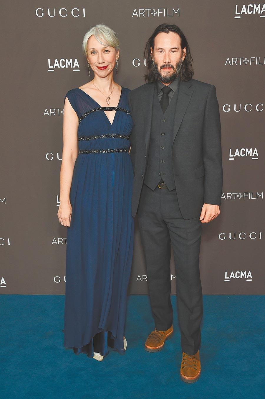 基努李維受邀當頒獎人,舊靴子將走上奧斯卡紅毯,時尚好品味的緋聞女友Alexandra Grant是否一同亮相,也令人期待。(CFP)