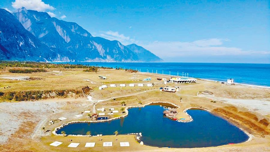 崇德瑩農場宛如紐西蘭般的景致,逐漸成為熱門話題。(崇德瑩農場提供)