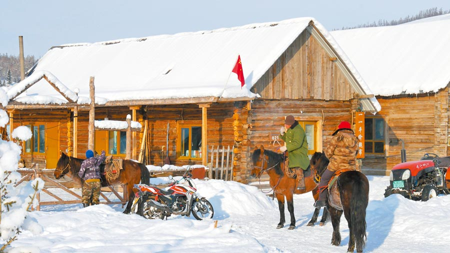 世居在新疆喀納斯的圖瓦族人。(記者陳柏廷攝)