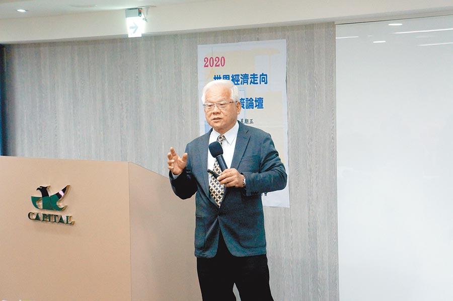 台北經營管理研究院院長陳明璋。(記者許昌平攝)