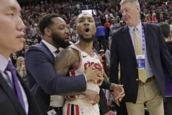 NBA》裁判坦承作掉拓荒者 利拉德氣炸