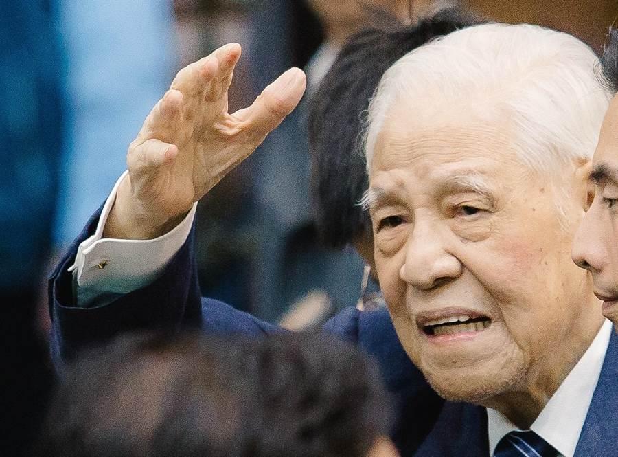前總統李登輝。(圖/本報資料照,郭吉銓攝)