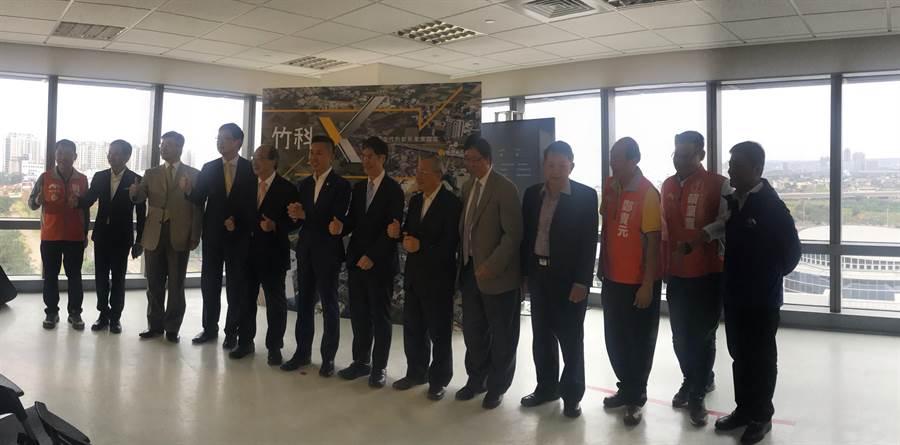 新竹市政府推動的「竹科X」產業園區計畫,科技部近日決定將在竹科X基地打造園區軟體大樓,竹科X園區正式向前邁進新里程碑。(陳育賢攝)