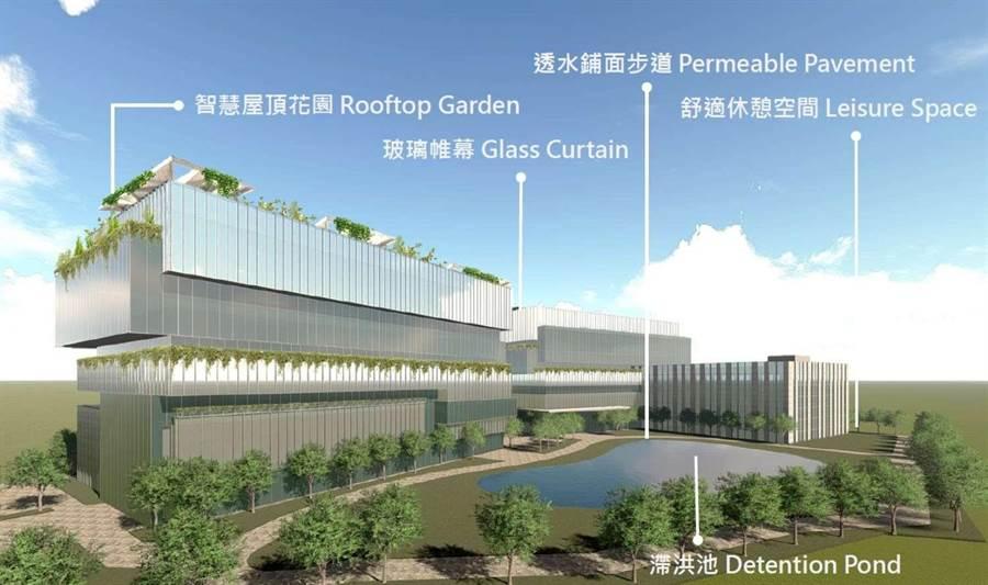 新竹市政府推動的「竹科X」產業園區計畫,科技部近日決定將在竹科X基地打造園區軟體大樓,竹科X園區正式向前邁進新里程碑。(新竹市政府提供/陳育賢新竹傳真)