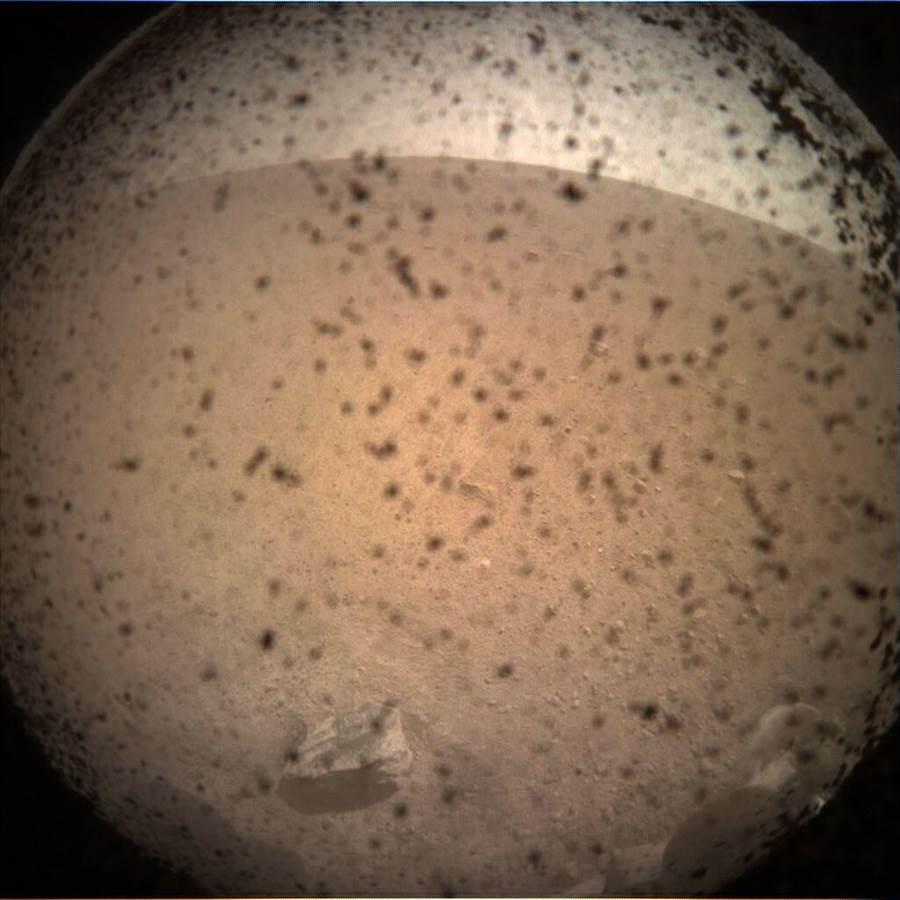 火星照片。(新華社資料照片)