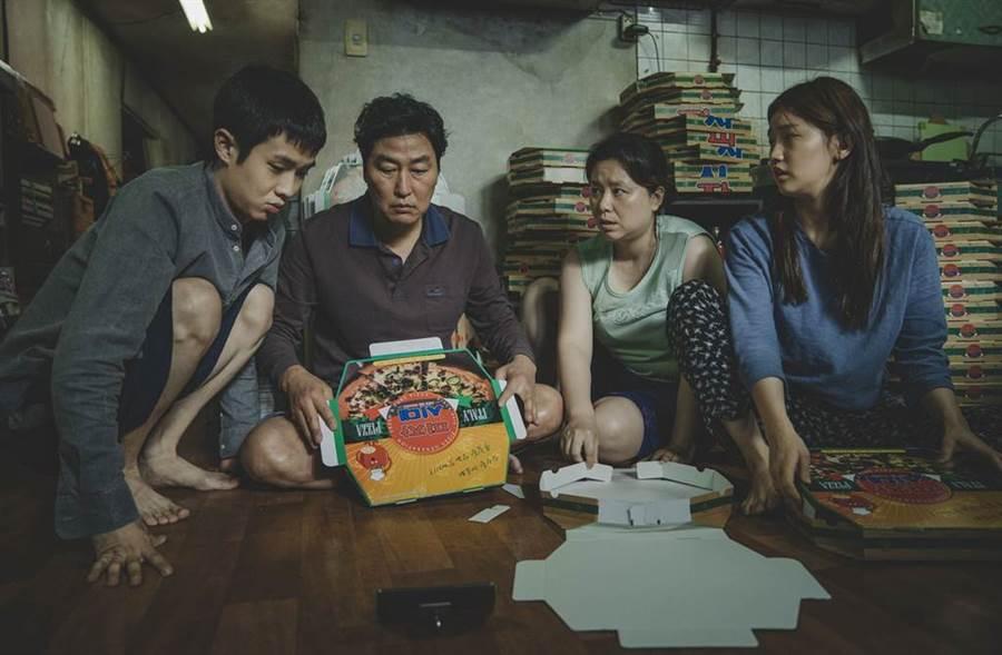 南韩电影《寄生上流》入围奥斯卡6大奖,有望改写奥斯卡历史。 (图/达志影像)