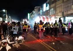 台東元宵遶境打群架 警逮10餘人