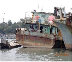 大陸抽砂船越界遭逮  金門檢方再拍賣1艘
