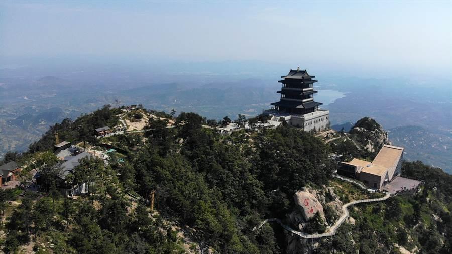 昔日的瑯琊,為現今的山東省臨沂市。圖為天蒙山景色。(新華社資料照片)