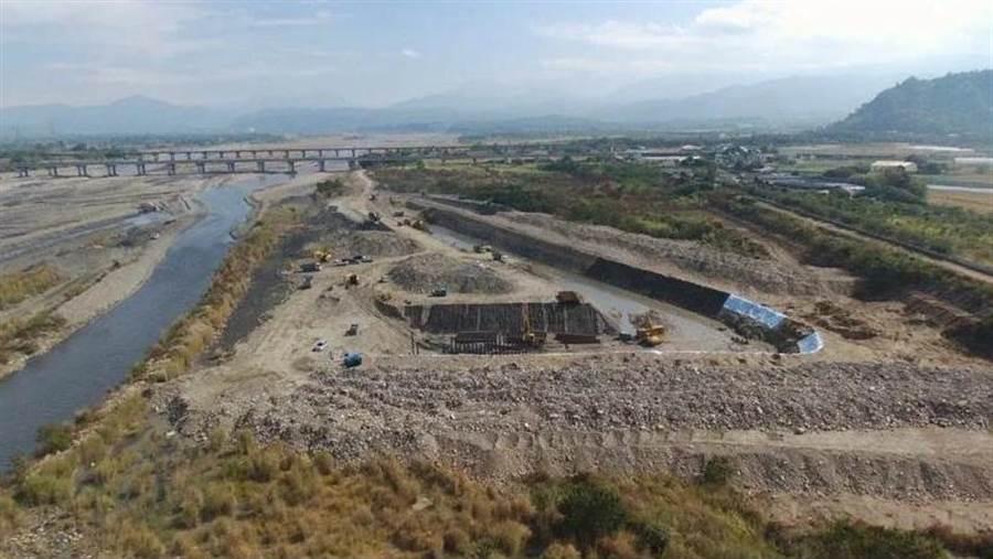 濁水溪伏流水工程可減少水資源浪費,提高水質,甚至恢復濁水溪原貌不是夢。(上益營造提供/許素惠雲林傳真)