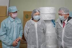 醫院口罩配給每日170萬片 蔡英文盼照顧第一線醫療人員
