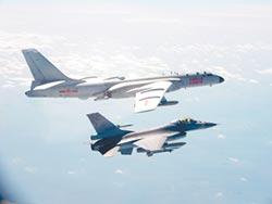 陸軍機又例行訓練 昨短暫越中線