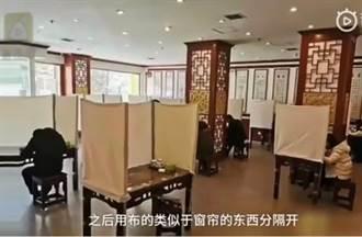 麵店「1人1桌3面拉簾」隔離 網:進京趕考!